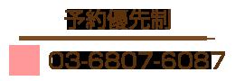 TEL:03-6807-6087